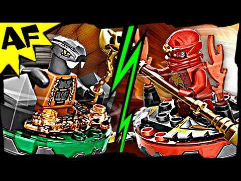 Nrg jay vs fangdam lego ninjago spinjitzu battle stop - Ninjago vs ninjago ...