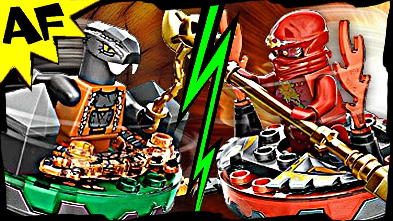 Nrg Kai Vs Chokun 9591 Lego Ninjago Weapon Pack Spinjitzu