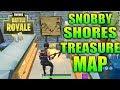 Fortnite Snobby Shores Treasure Map Location! - Follow the treasure map found in Snobby Shores