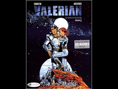 Book Review:  Valerian The Complete Collection Vol. 1