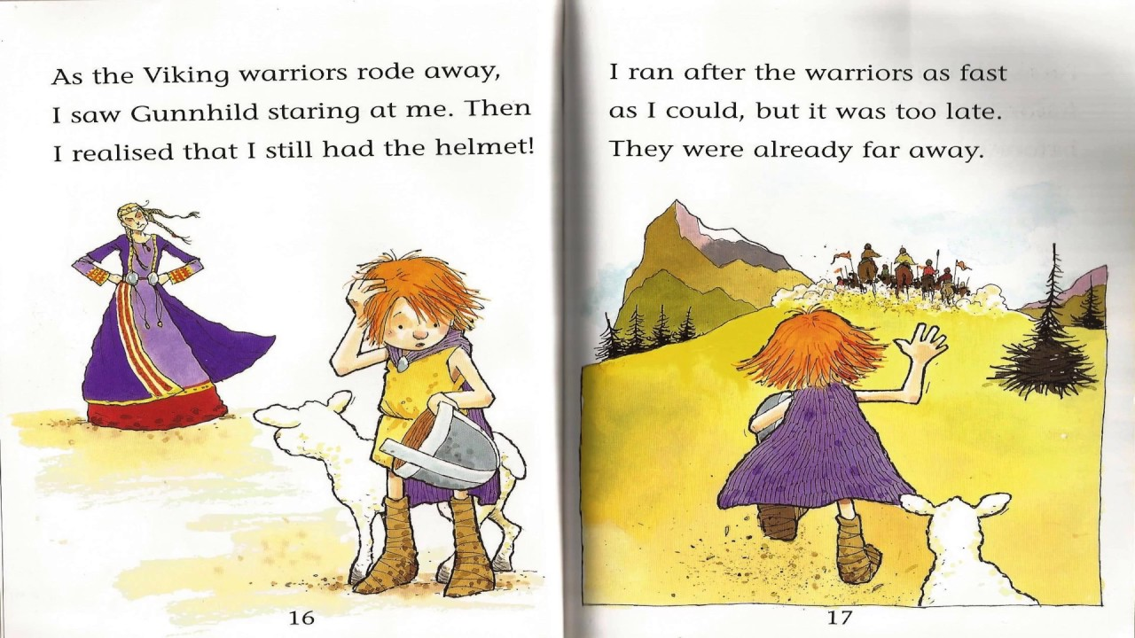 Eric Blooaxe The Viking King Book Reading Children Kid