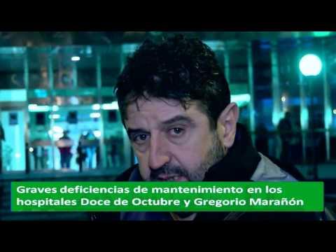 Hospitales que se caen y tertulia municipalista en MADRID EN LÍNEA 30 01 17