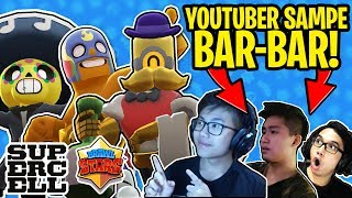 GAME MOBILE TERSERU!! YOUTUBER SAMPE BAR-BAR!!😂 - Brawl Stars Indonesia