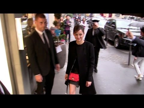 Marion Cotillard attending the Dior after show diner in Paris