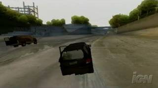 24: The Game PlayStation 2 Gameplay - Car Chase
