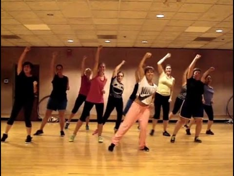 """BEAT IT"" by Michael Jackson – Dance Fitness Workout Choreography Valeo Club"