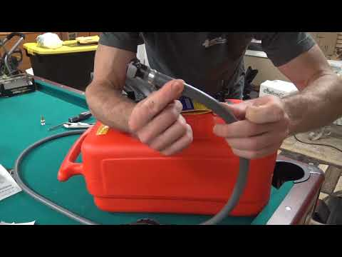 How to build an extended run gas tank for a Honda Generator