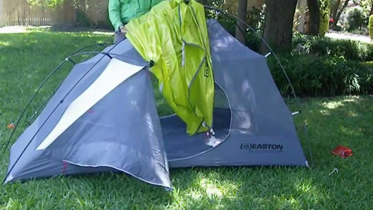 Ten Minute Tent Easton Slickrock 2P Backpacking Tent Quick Build 2101 & Ten Minute Tent: Easton Slickrock 2P Backpacking Tent Quick Build ...