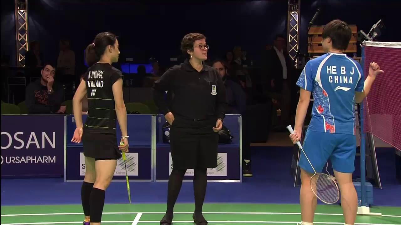 Bitburger Badminton Open 2016 F M3 WS