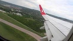 Taxi and Takeoff at Varna Airport