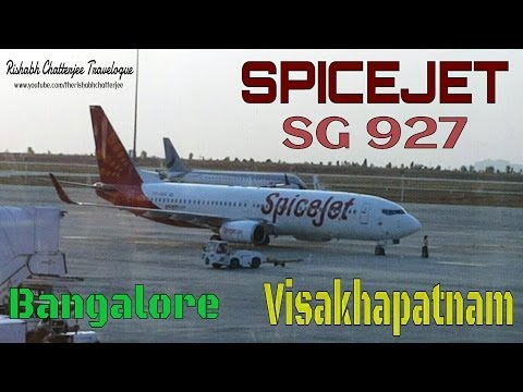 SPICEJET SG 927 Bangalore to Visakhapatnam