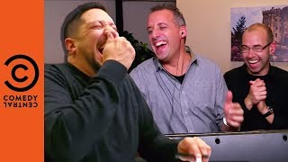 Sal Loses It During The Receptionist Game | Impractical Jokers