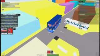 roblox bus driver city route 49 :PART 1