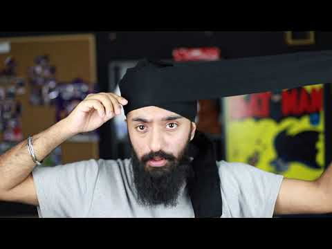 How to tie a kenyan / african / UK style turban