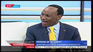 Morning Express: CEO-Ezekiel Mutua the prayerful believer in God, 18/10/16