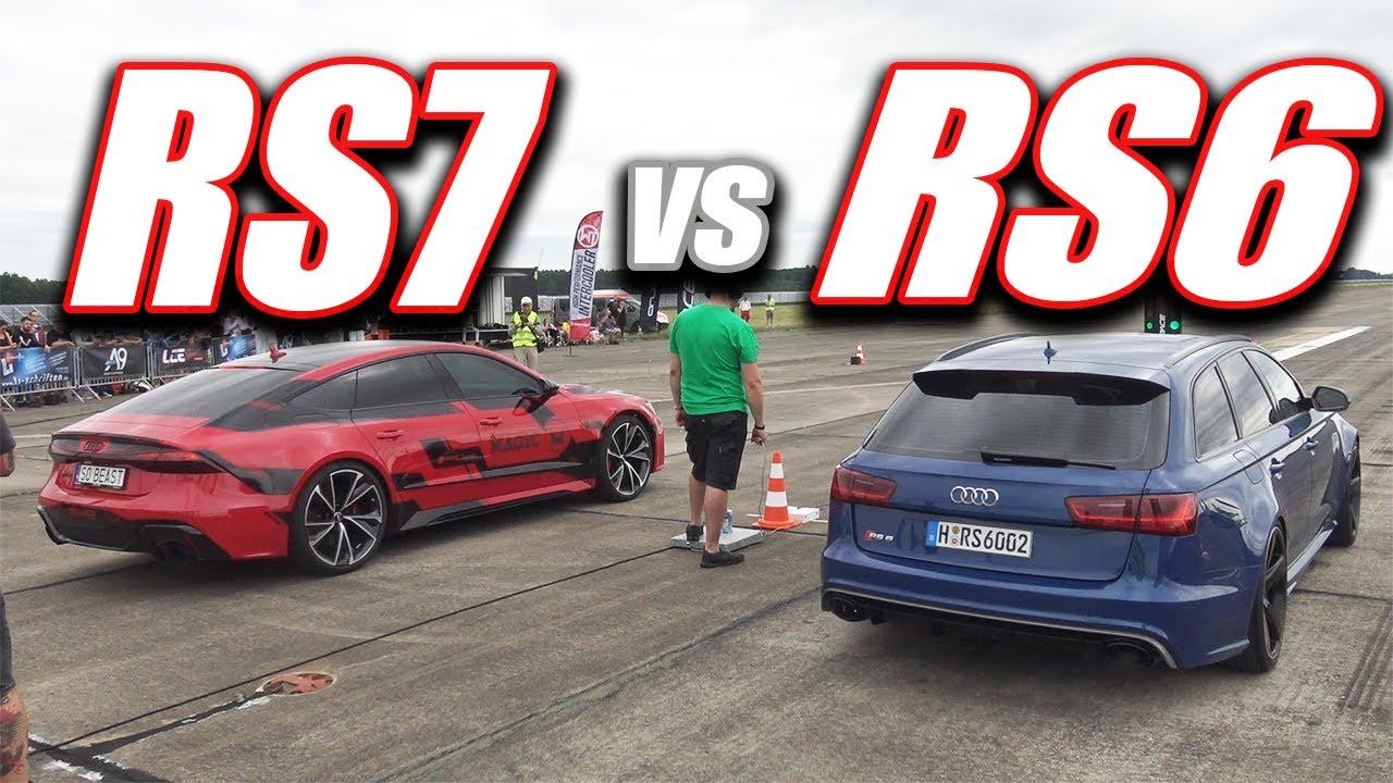 2020 AUDI RS7 vs AUDI RS6 C7! - YouTube