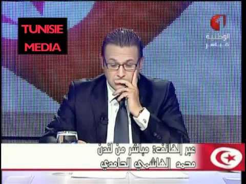 TUNISIE - Intervention de Mohamed Hechmi Hamdi ( Al Mustakillah ) chez Elyes Gharbi