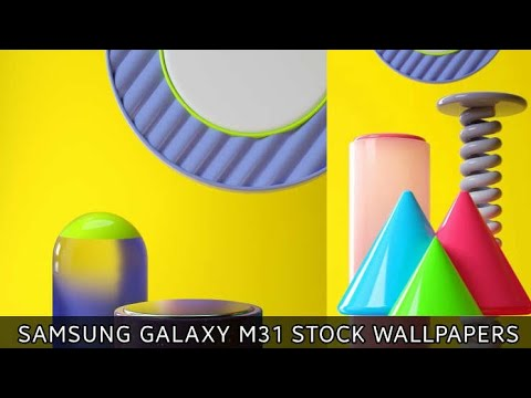 Samsung Galaxy M31 Stock Wallpapers With Download Link Youtube