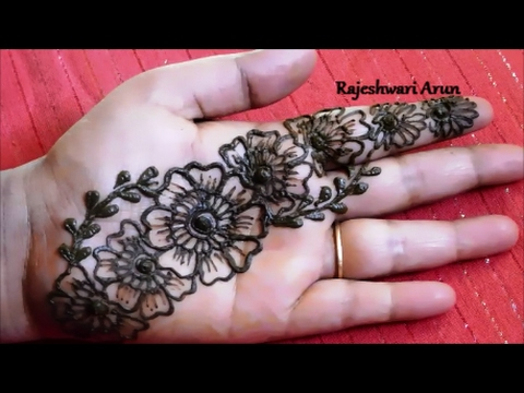 Simple Arabic Mehndi Designs For Hands Step By Step For Beginners Mehndi Designs For Hands