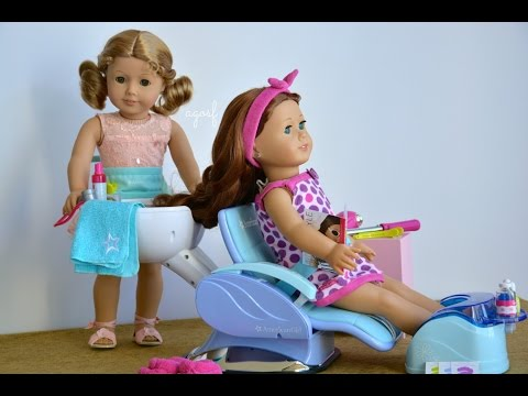 American Girl Doll Haul Salon Spa Sets! HD WATCH IN HD!
