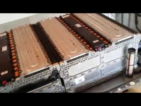 Smart Car High Voltage Battery Disembly Part 1