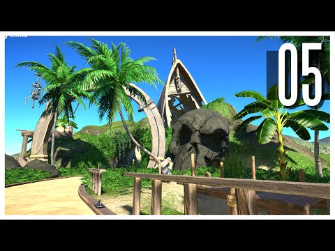 Planet Coaster - Ep.05 : Pirate Theme & Terraforming!