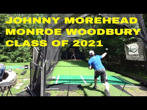 JOHN MOREHEAD PITCHING BULLPEN SESSION WITH SEAN LYNCH MONROE WOODBURY HIGH SCHOOL
