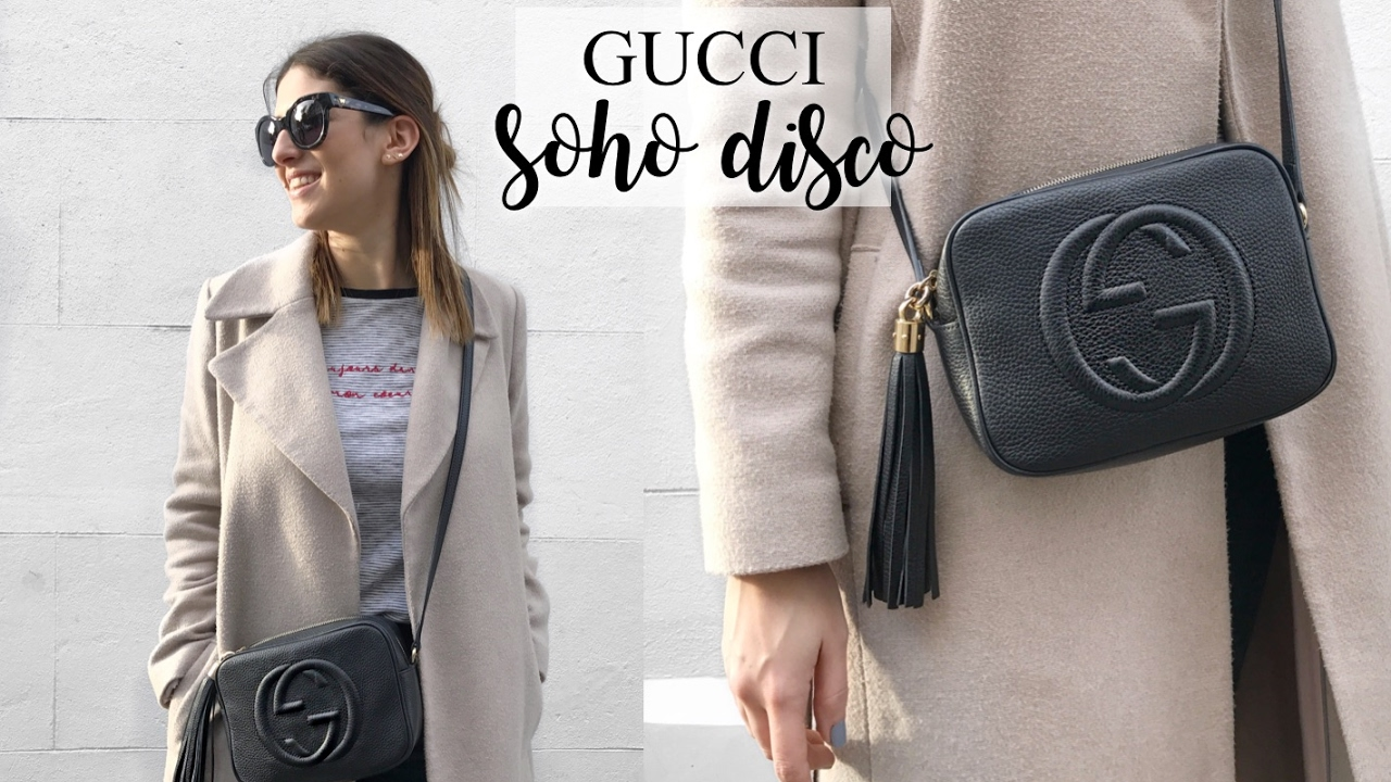 40c4b8938 WHAT'S IN MY GUCCI SOHO DISCO BAG | Lily Pebbles - YouTube