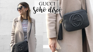 WHAT'S IN MY GUCCI SOHO DISCO BAG | Lily Pebbles