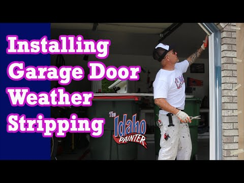 How to replace garage door weather strips home energy hacks how to replace garage door weather strips home energy hacks youtube solutioingenieria Images