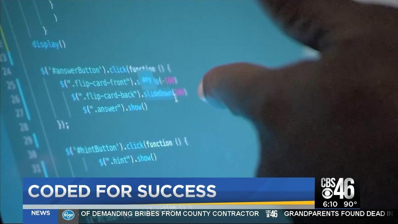 ATLANTA, GEORGIA: Computer coding class leads to future success