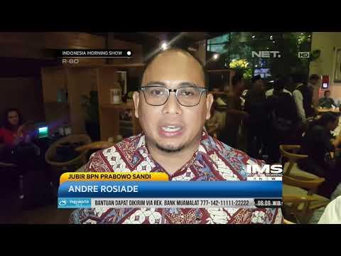 Tanggapan Jubir BPN Prabowo Sandi, Andre Rosiade Terhadap Kasus Ratna Sarumpaet- IMS