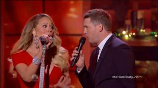 Mariah Carey - All I Want For Christmas Is You (Live Duet Michael Bublé)  [HD] #Gay