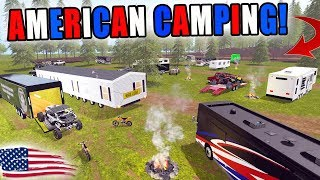 CAMPING FOR THE FOURTH   BOATING + RIDING   KTM + CAN AM   FARMING SIMULATOR 2017