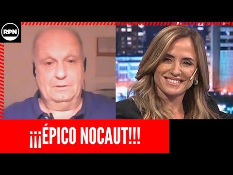 Victoria Tolosa Paz le cerró la boca a Lombardi en animales sueltos