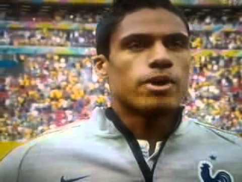 BRAZIL FIFA WORLD CUP 2014 - National Anthem France