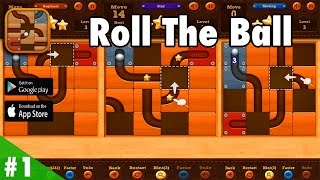Roll the Ball™ slide puzzle - Gameplay Walkthrough #1 HD (iOS, Android) screenshot 2