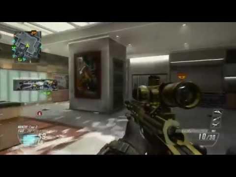 [BO2] GoLd Ballista Sniper Gameplay W/ Quad Feed !