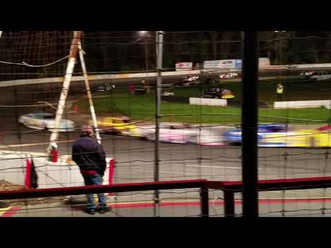 Mahoning Valley Speedway - Late Model Feature - October 2018