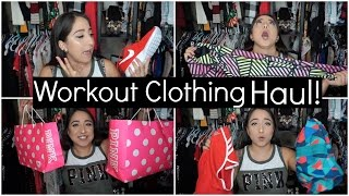 HUGE Workout Clothing HAUL: PINK, NIKE + more!