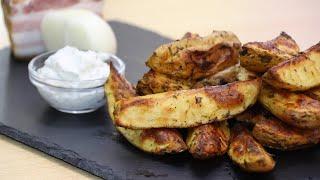 Картошка вкуснее чем мясо Картофель по деревенски в духовке