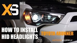 XS Toyota 4Runner HID - How to Install HID Xenon 2009+