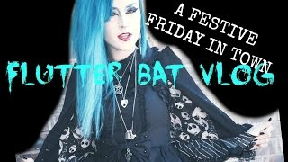 Flutter Bat Mini Vlog (Haunted Dinner, Antique Store and Book Shopping)(Below are links to my social networking sites: Instagram: the_goblin_queen Facebook: https://www.facebook.com/allisoneckfeldtofficial Tumblr: ..., 2016-01-23T06:36:11.000Z)