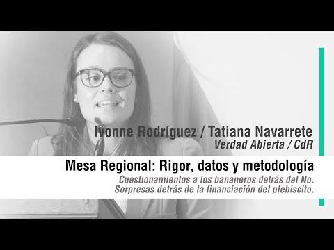Mesa Regional / Cuestionamientos a los bananeros detrás del No. La financiación del plebiscito.