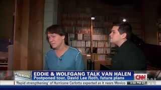 Eddie & Wolfgang talk Van Halen...6/15/2012