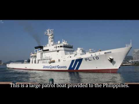 #CHexit. The Philippine Coast Guard. New Large Patrol Vessel. Overall length 90.0 m (295.2 ft)