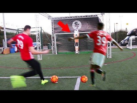 (NEVER SEEN😱) ALEX HUNTER VS IMPOSSIBLE ROBOTIC GOALKEEPER FOOTBALL CHALLENGE
