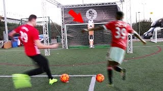 (NEVER SEEN😱) ALEX HUNTER VS IMPOSSIBLE ROBOTIC GOALKEEPER FOOTBALL CHALLENGE