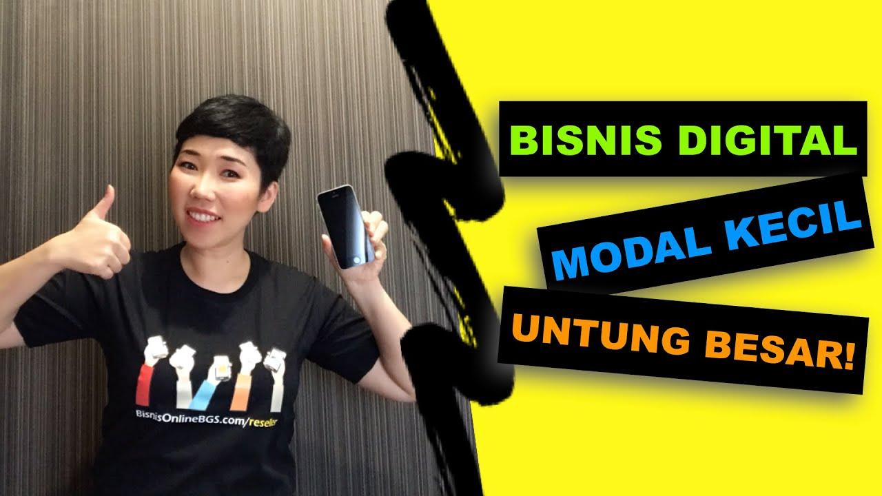 Bisnis Digital Modal Kecil Penghasilan Besar - YouTube