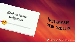 Instagram'a gelen  Yeni Özellik |Story  11.05